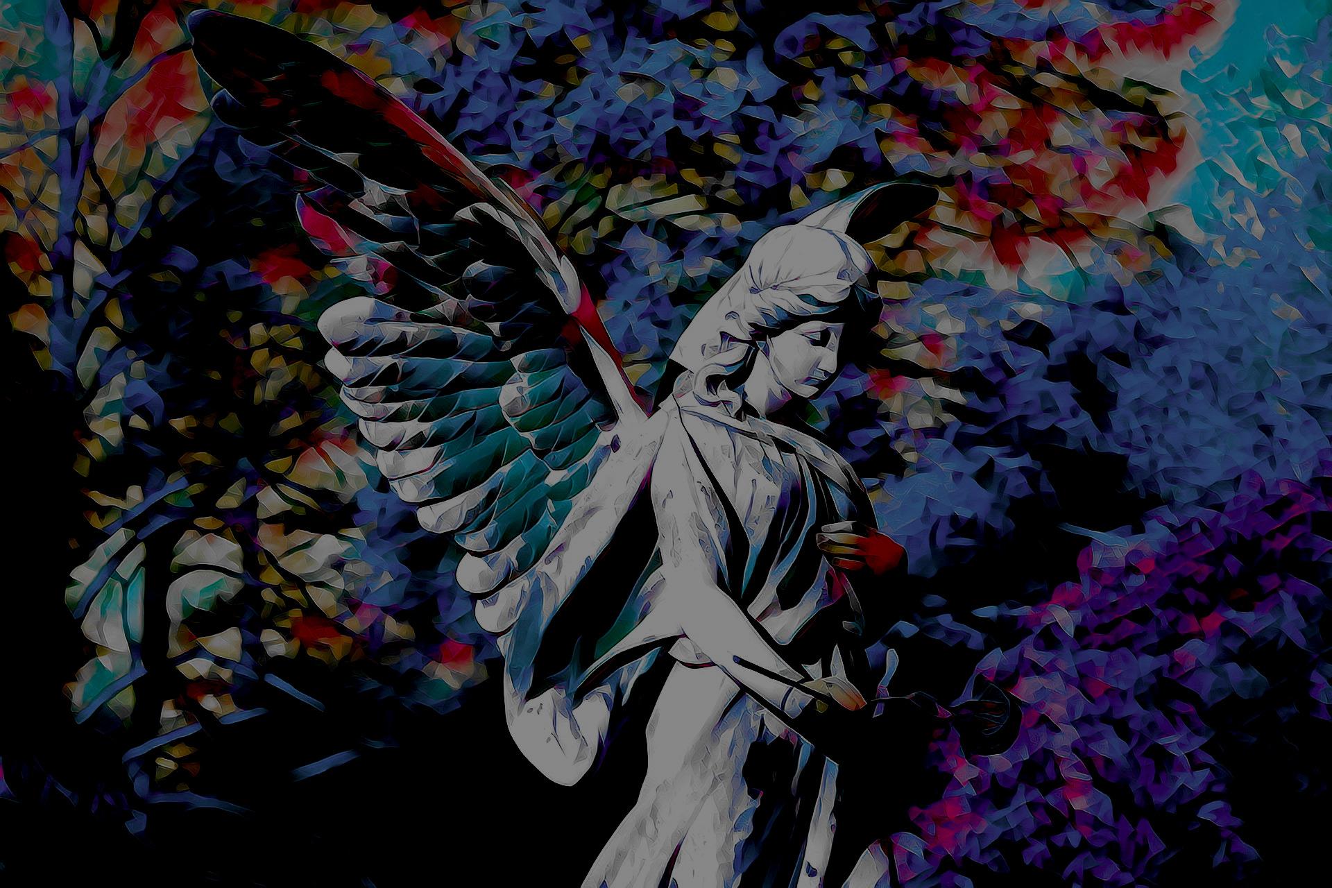 wywoływanie duchów - wróżka Ksymena