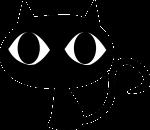 Kot oczyszcza z negatywnych energii - wróżka Ksymena-Wielki Mistrz Reiki