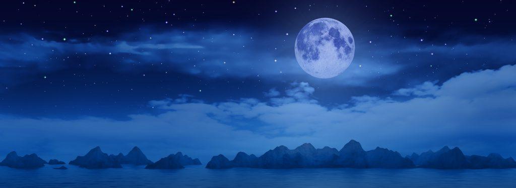 kalendarz księżycowy - Księżyc - wróżka Ksymena - Księżyc w znaku - faza Księżyca