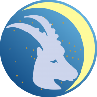 Księżyc w Koziorożcu - Księżyc w znaku Koziorożca - wróżka Ksymena