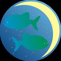 Księżyc w Rybach - Księżyc w znaku Ryb - wróżka Ksymena