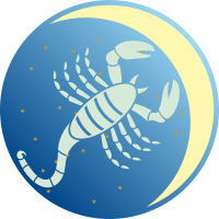 Księżyc w Skorpionie - Księżyc w znaku Skorpiona - wróżka Ksymena