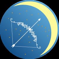 Księżyc w Strzelcu - Księżyc w znaku Strzelca - wróżka Ksymena