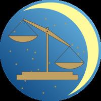 Księżyc w Wadze - Księżyc w znaku Wagi - wróżka Ksymena