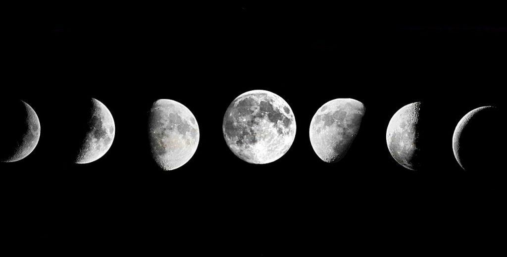 faza Księżyca - wróżka Ksymena - rytuały - rytuł