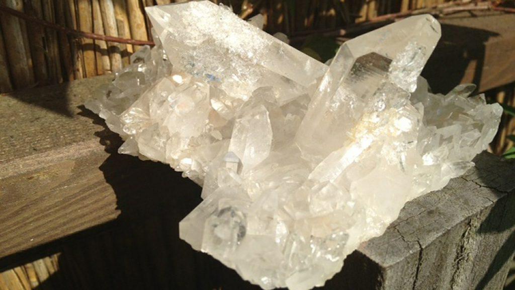 kryształ górski - wróżka Ksymena